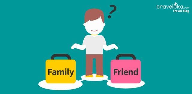 Traveling – Bareng Teman atau Keluarga Ya?