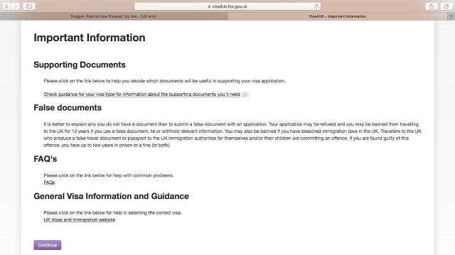 Informasi Penting mengenai dokumen.