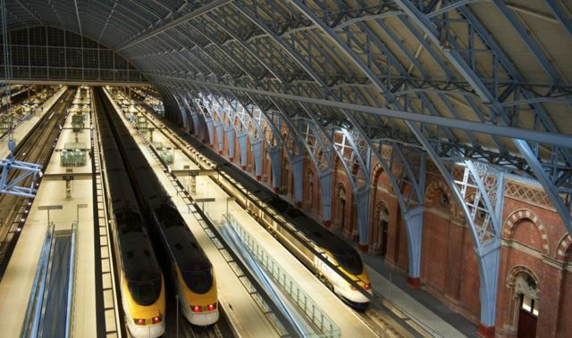 Stasiun King's Cross & St. Pancras - Harry Potter Scene