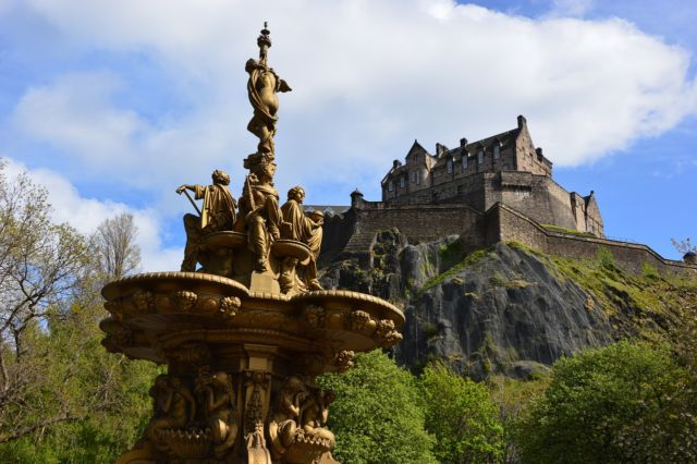Kastil Edinburgh yang menawan