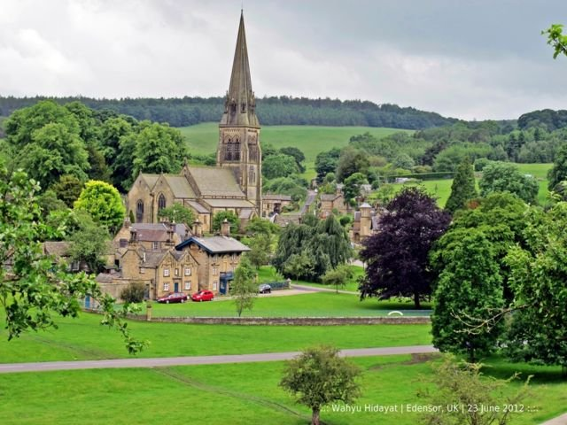 Sure lof it's Edensor