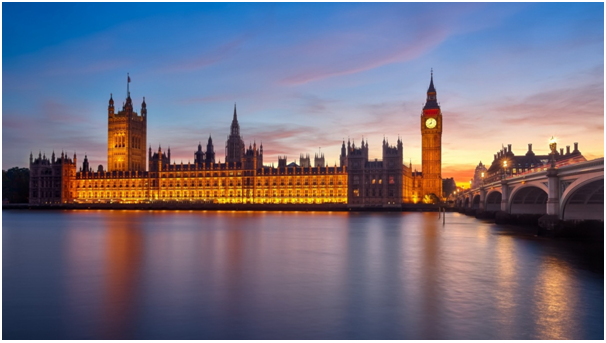 Palace of Westminister England