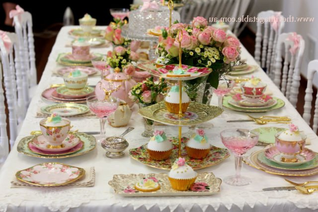 Settingan High Tea