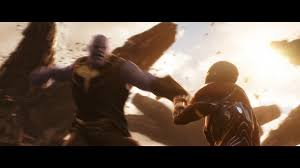 thanos vs ironman