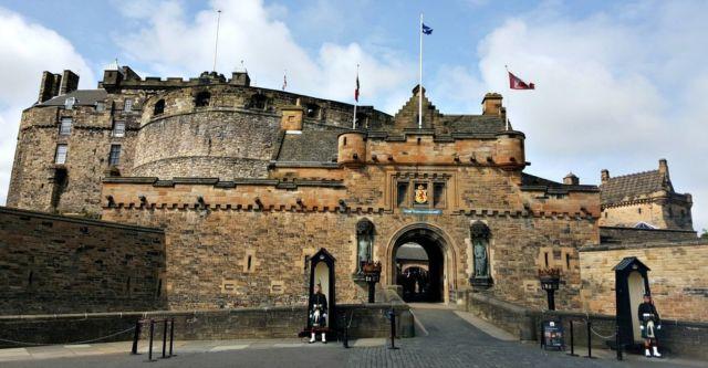 Edinburgh Castle, Skotlandia
