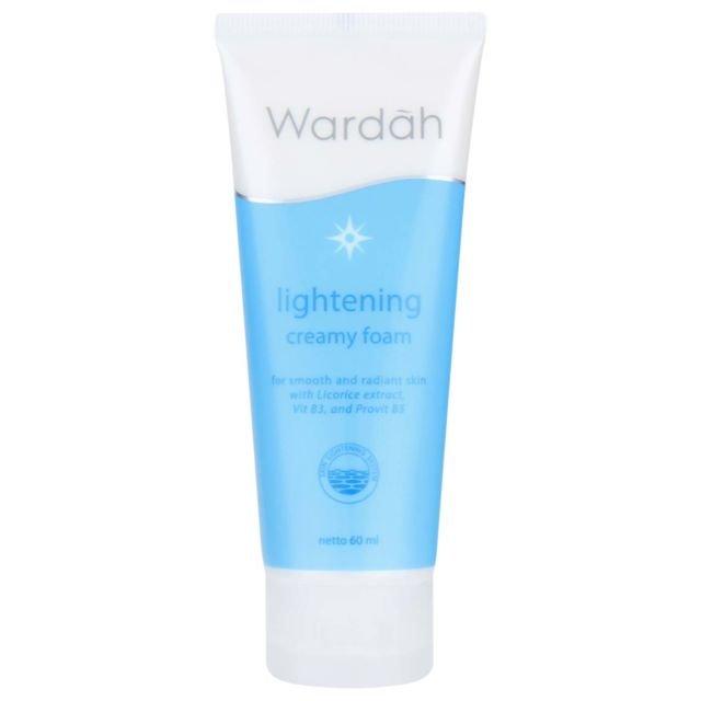 wardah lightening creamy foam