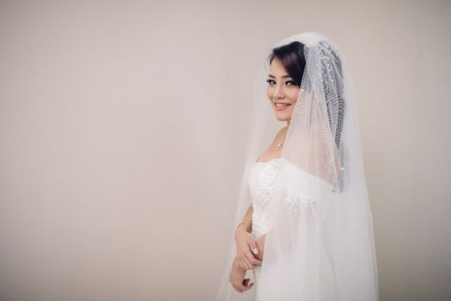 You are the most beautiful bride I've ever seen
