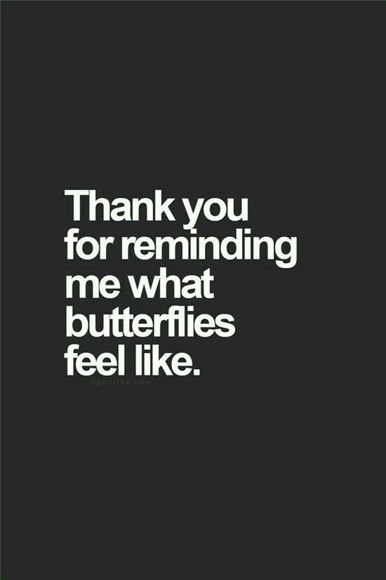 Akan ada kupu-kupu di perut lagi