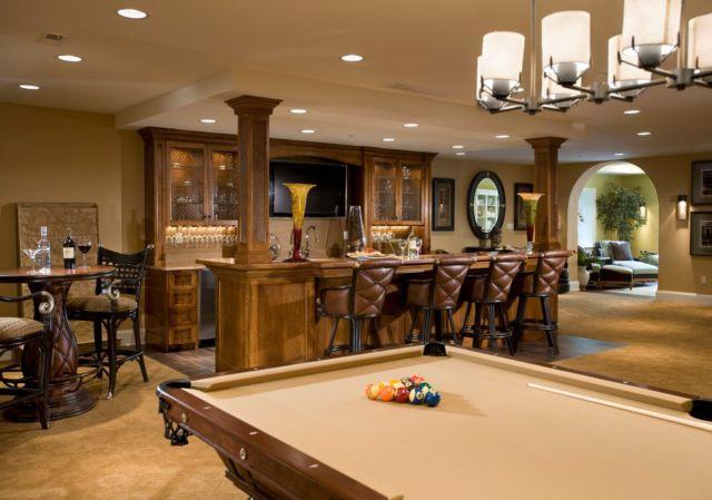home bar dan play room