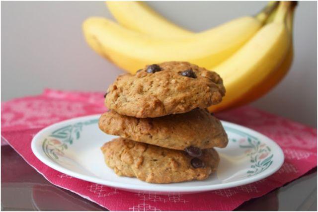 Banana Oatmeal Cookie cocok untuk kue lebaran