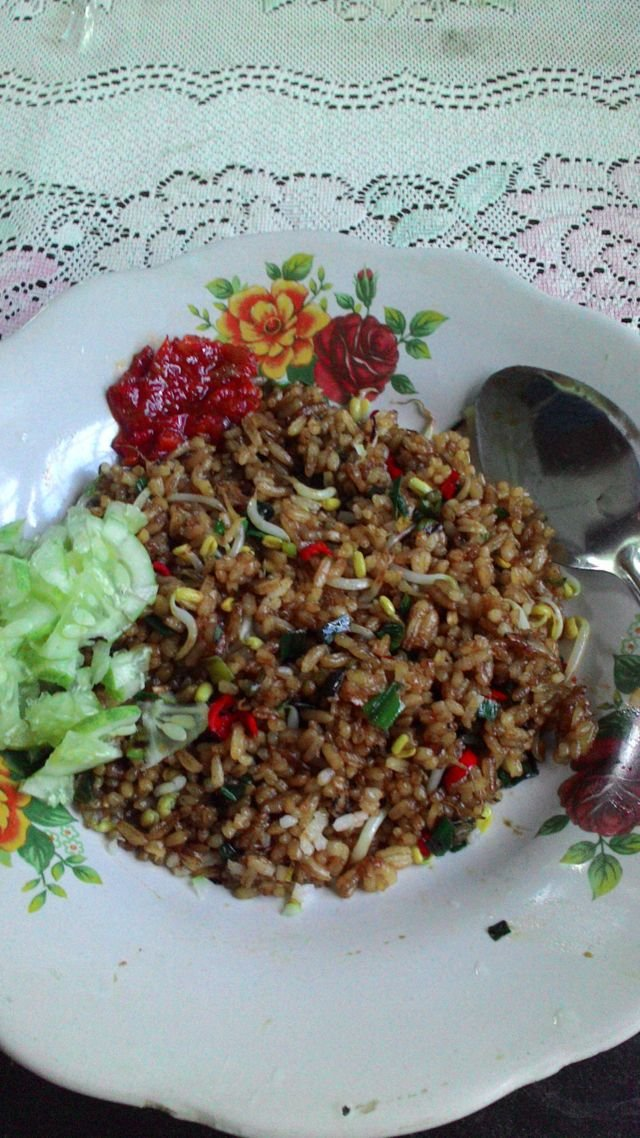 Healthy Fried Rice, dokumentasi penulis