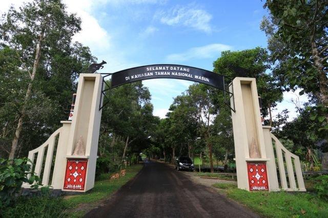 Pintu Masuk Taman Nasional Wasur