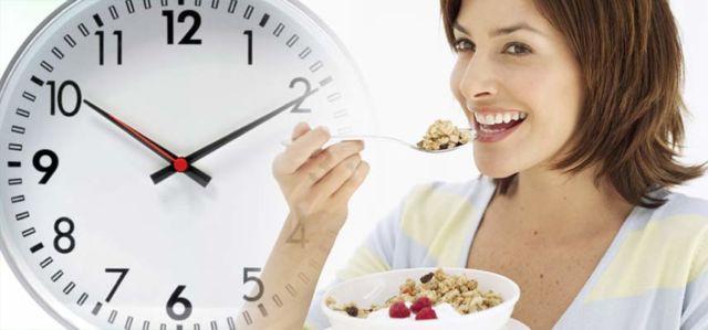 Makan Pada Waktunya