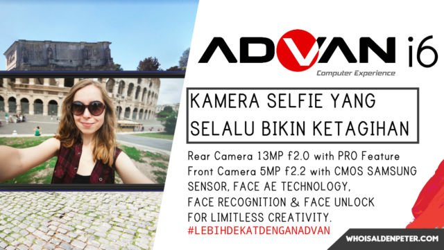 kamera selfie advan yang selalu bikin ketagihan