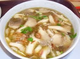 Sup Jamur tiram