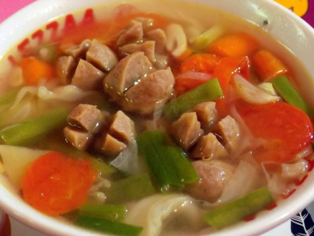 simple soup sayur