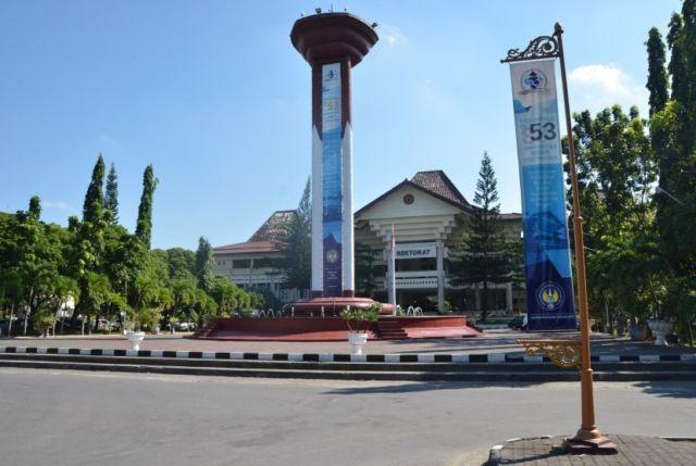 Halaman Rektorat UNY