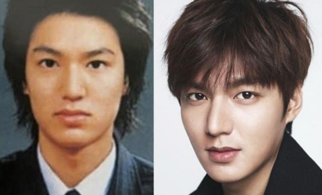 Lee Min Hoo before dan after