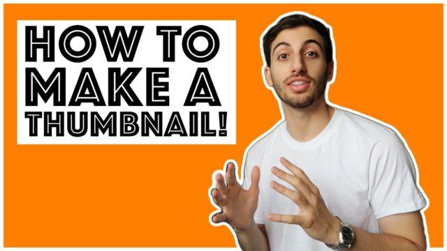 Thumbnail youtube