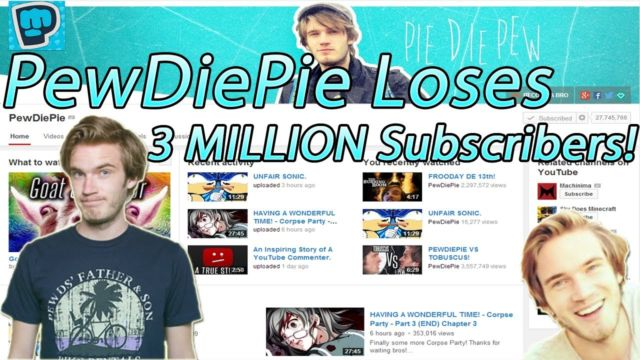 Subscriber PewDiePie