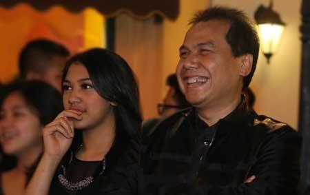 Bersama sang ayah tercinta