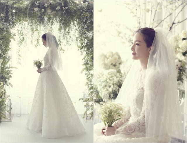 Cantiknya 8 Gaun Pernikahan Ala Pasangan Seleb Korea Ini Real