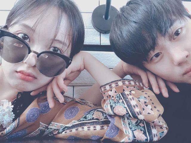 Unggahan Byung Gyu di instagram pribadinya