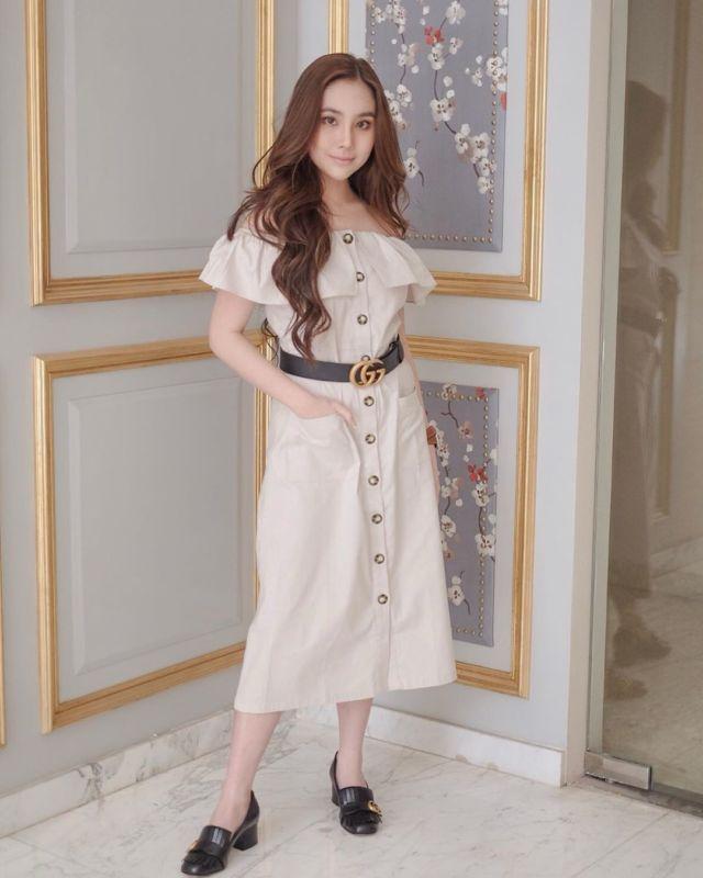 Fantastis 11 Ide Gaun Cantik Ala Agatha Chelsea Ini Bisa Kamu