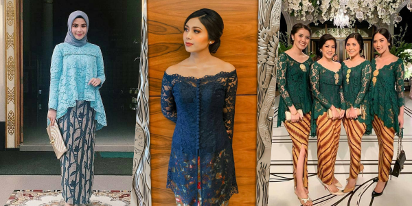 9 Ide Model Kebaya Tanpa Payet Untuk Kondangan Penampilan Elegan
