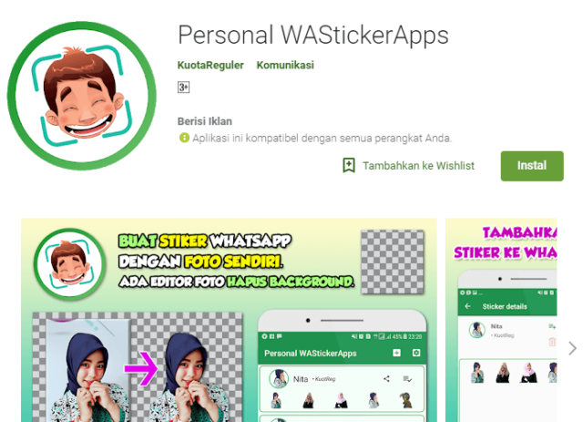 Personal WASticker APPS