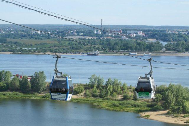 Kereta Gantung di Rusia dari IDN