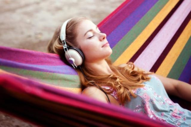 Listening to Music for Stress Relief