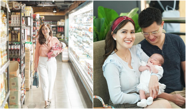 Shandy Aulia Ajak Bayinya Yang Berusia Sebulan Ke Supermarket